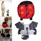 1pc Harnesses Backpack Baby Kid Child Walking Strap Bag Ladybug Bat Wing Shape