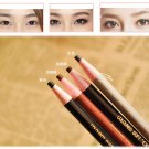 Applied 4pcs Coffee Eye Brow Pen Eye Beauty Long Lasting Madeup Eyebrow Pencil