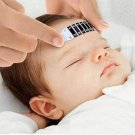 1Pc Forehead Thermometer Strip Head Fever Cold Baby Child Adult Test Temperature