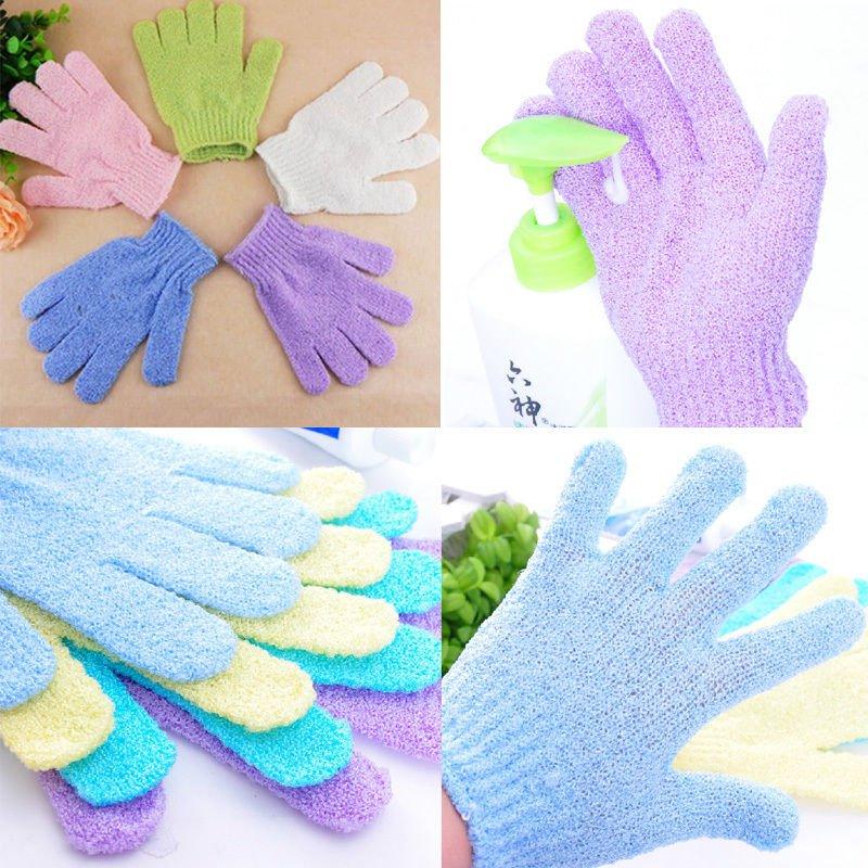 Stylish Shower Bath SPA Massager Mitt Skin Scrub Body Clean Foam Soap Gloves