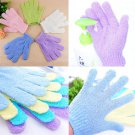 Stylish Shower Bath SPA Massager Mitt Skin Scrub Body Clean Foam Soap Gloves