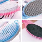 Brand New 4in1 Foot Pumice Stone Dead Skin Remover Brush Pedicure Grinding Tool