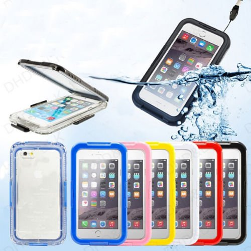 """iPhone 6 4.7"""" PC Waterproof Durable Shockproof Dirt Snow Proof Case Cover (COLOR PINK"""