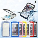"""iPhone 6 4.7"""" PC Waterproof Durable Shockproof Dirt Snow Proof Case Cover (COLOR RED"""