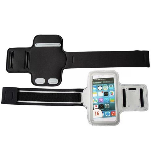 """Armband For iPhone 6 4.7"""" Sports Gym Arm Band Case holder (COLOR WHITE"""