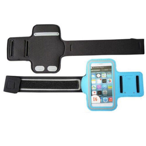 "Armband For iPhone 6 4.7"" Sports Gym Arm Band Case holder (COLOR LIGHT BLUE"