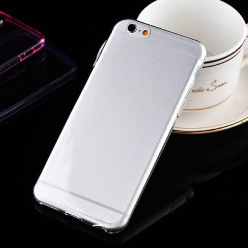 Apple 4.7'' iPhone 6 Ultra thin Slim Silicone Soft TPU Gel Back Cover Case (color CLEAR