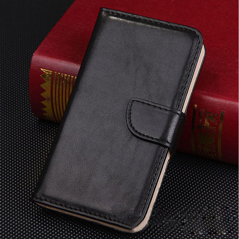 1pc High Quality Cards Pouch Flip Leather Case Cover for Samsung Galaxy S3 I9300 (COLOR BLACK