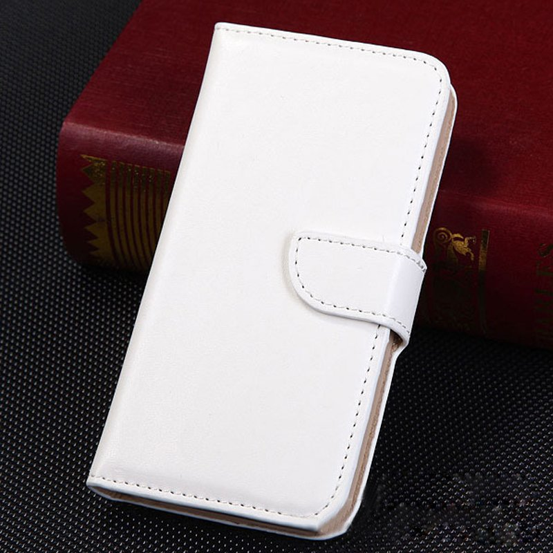 1pc High Quality Cards Pouch Flip Leather Case Cover for Samsung Galaxy S3 I9300 (COLOR WHITE
