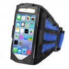 Mesh Gym Armband Case Cover Sports Running Jogging for Apple iPhone5/5S  (COLOR BLUE