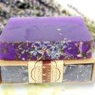 1* Lavender handmade soap Skin whitening Cleansing Soap