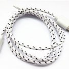 8pin Braided Usb Data Sync Cable Cord Fit for iphone5s 5c IOS 7.1 (WHITE
