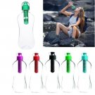 Reusable Hydration Filter Water Filtered Drink Bottle Outdoor Hiking Gym Sport