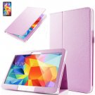 "PU Leather Folio Case Stand Cover For Samsung Galaxy Tab 4 10.1"" SM-T530 Tablet(COLOR PINK"