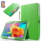"PU Leather Folio Case Stand Cover For Samsung Galaxy Tab 4 10.1"" SM-T530 Tablet(COLOR GREEN"