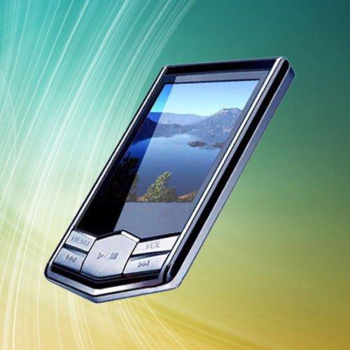 "Portable 4GB 4G Slim Black 1.8"" LCD TFT MP3 MP4 Player FM Radio Function 1PC"
