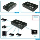 5 Port 5x1 Mini HDMI Switch Switcher Selector with IR Remote Control 1080P 3D
