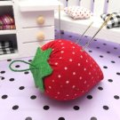 Cute Strawberry Style Pin Cushion Pillow Needles Holder Sewing Craft Kit