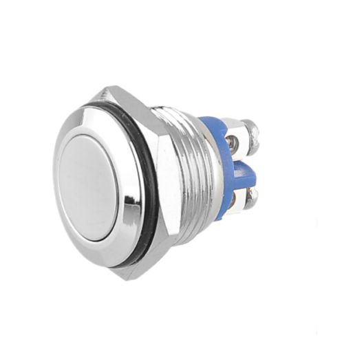 Stainless Steel Push button momentary Switch Start Horn Button Momentary