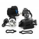 2200lm Cree XML T6 LED 2in1 Cycling Bicycle Bike Headlight Headlamp 18650 3 Mode