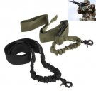 Tactical ACU New--One Single 1 Point Bungee Rifle Gun Airsoft Adjustable Sling