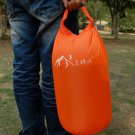 Waterproof Drift Swimming Sailing Floating Canoe Camping Beach Dry Bag 8L Orange