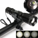 2000Lm Zoomable CREE T6 LED Flashlight Torch Bicycle Light Bike Lamp with Mount