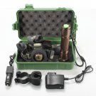 2in1 2000LM Zoomable CREE XM-L T6 LED 18650 HeadLamp Flashlight Mount+ Box+ 2*C