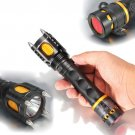 Cool! 2000Lm Tactical safety Audible Alarm CREE XML T6 LED Flashlight Torch NEW