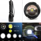 UltraFire 2400 Lumen Zoomable CREE XM-L2 T6 LED Flashlight 18650/AAA Lamp Torch