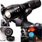 ULTRAFIRE CREE XM-L T6 2000Lm HIGH POWER TORCH ZOOMABLE LED FLASHLIGHT + Mount