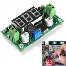 LED Voltmeter 4V-40V DC-DC Step Down LM2596 Voltage Regulator Converter Module