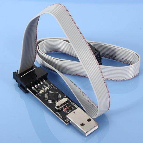 10 Pin USBASP USBISP AVR Programmer Downloader USB ATMEGA8 ATMEGA128