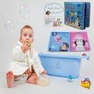 Baby Plastic Bathtime Bath Book Waterproof Coated Educational Learn Toy Children