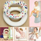 Baby Toddler Trainer Toilet Seat Soft Padded Cover Harmless Potty Chair NEW