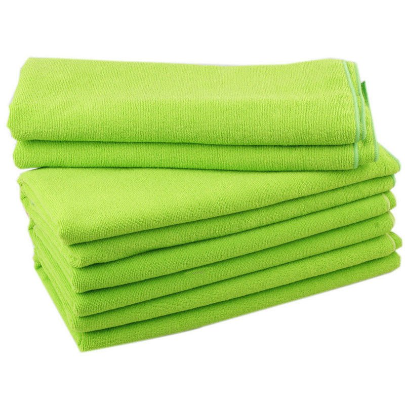 70x140CM Microfibre Sports Travel Gym Fitness Beach Swim Camping Bath Towel(color green