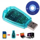 USB Cellphone Standard SIM Card Reader Copy Cloner Writer SMS Backup GSM/CDMA+CD