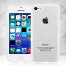 Clear Jelly Color Plain TPU Gel Soft Rubber Case Cover Skin for Apple iPhone 5C( COLOR CLEAR