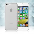 0.3mm Ultra Thin Matte Frosted Clear Soft TPU Back Case Cover Fr Apple iPhone 5C(COLOR GREY