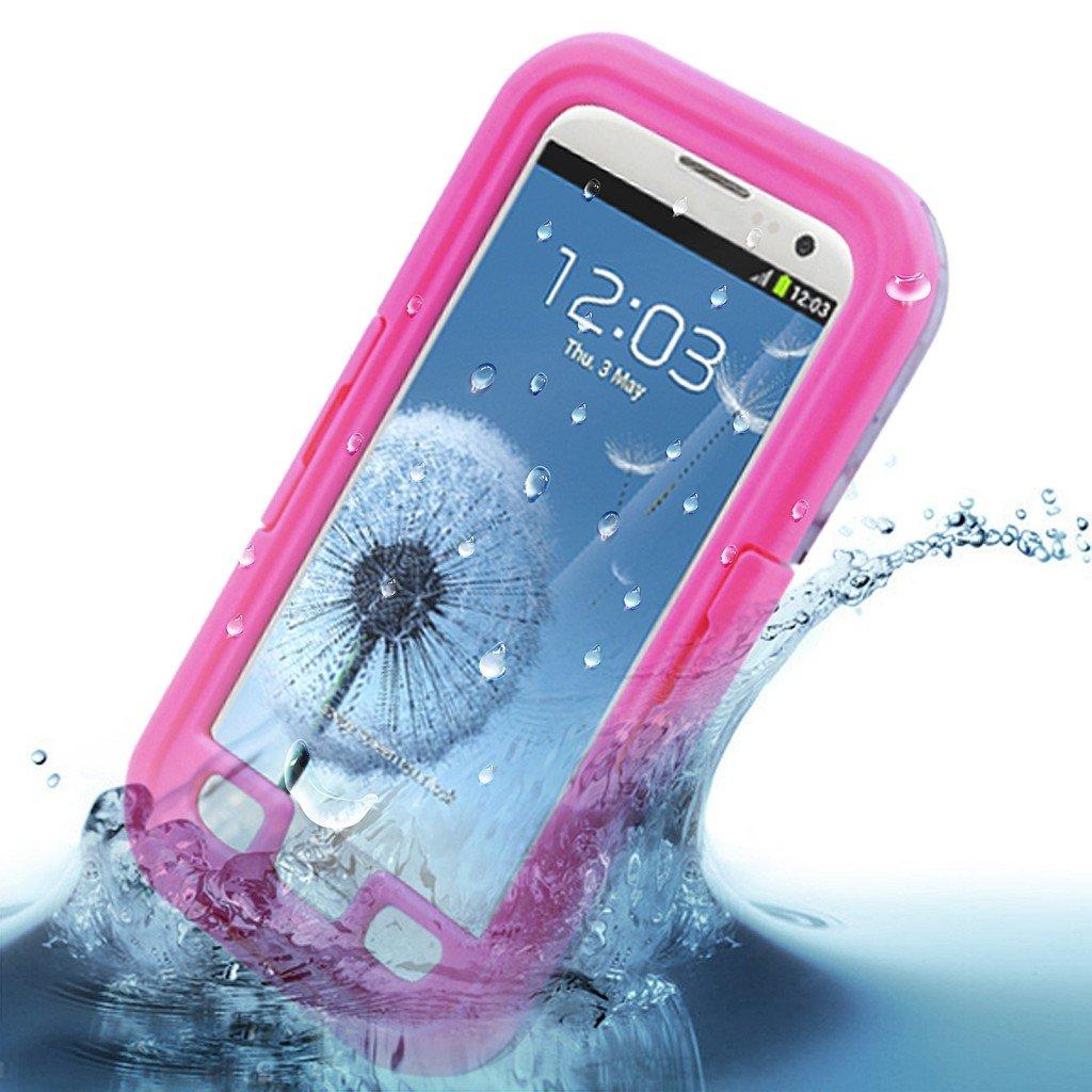Water Shock Proof Waterproof Case Cover Skin fr Samsung Galaxy S3 III i9300( color pink