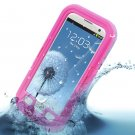 Water Shock Proof Waterproof Case Cover Skin fr Samsung Galaxy S3 III i9300( color pink