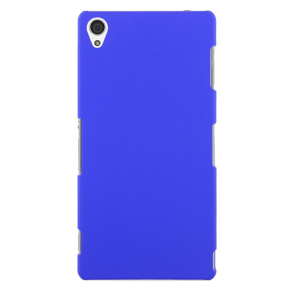 Slim Premium Hard Matte Plastic Snap-On Back Shell Case Cover For Sony Xperia Z3(COLOR DARK BLUE