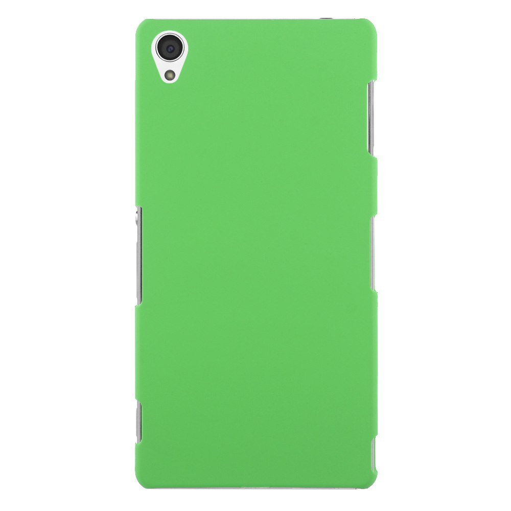 Slim Premium Hard Matte Plastic Snap-On Back Shell Case Cover For Sony Xperia Z3(COLOR GREEN