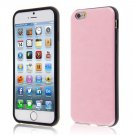 "PU Leather + TPU Four Sides Protector Cover Case Skin for iPhone6 4.7""( COLOR PINK"