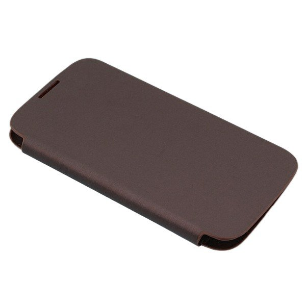 PU Leather Flip Battery Cover Case for Samsung Galaxy S4 i9500 ( COLOR BROWN
