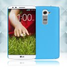 Snap on Hard PC Back Case Cover Skin Protective For LG G2(COLOR LIGHT BLUE
