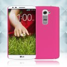 Snap on Hard PC Back Case Cover Skin Protective For LG G2(COLOR ROSE