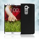Snap on Hard PC Back Case Cover Skin Protective For LG G2(COLOR BLACK