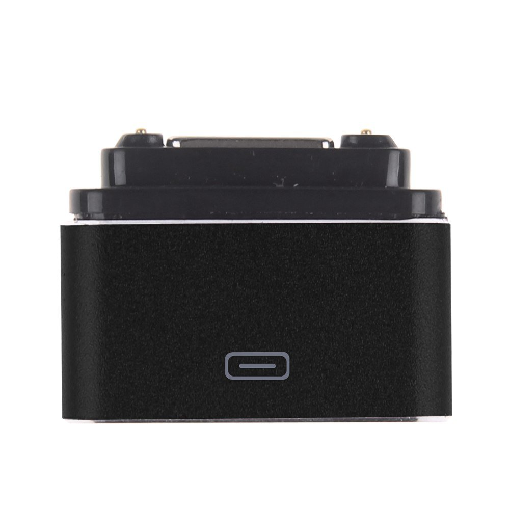 Micro USB Magnetic Cable Charger Dock Adapter Converter For Sony Xperia Z1/Z2/Z3 (COLOR BLACK
