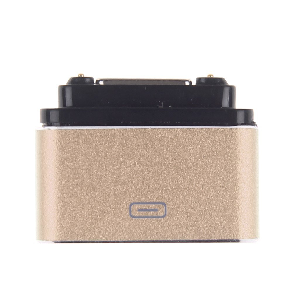 Micro USB Magnetic Cable Charger Dock Adapter Converter For Sony Xperia Z1/Z2/Z3 (COLOR GOLD